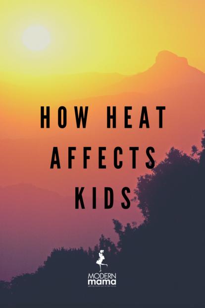 How Heat Affects Kids