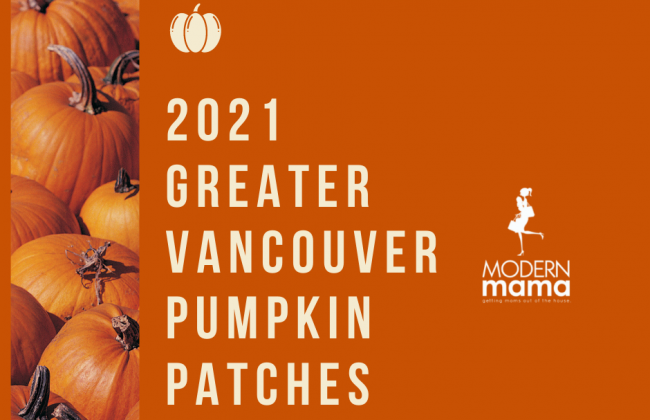 2021 Greater Vancouver Pumpkin Patches