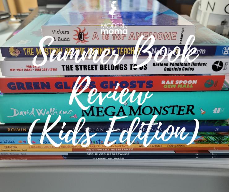 Summer Book Review - Kids
