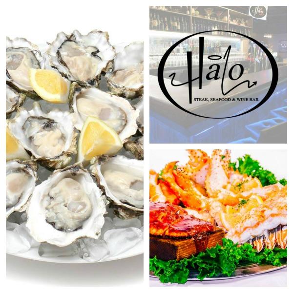Halo menu collage