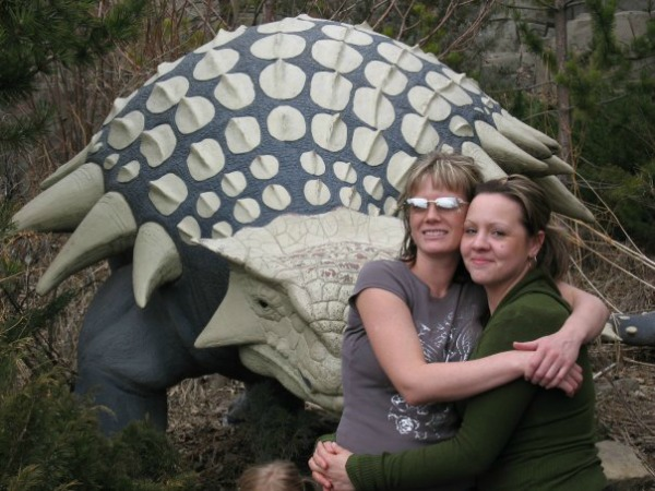 Deb and Candice Zoo 2006