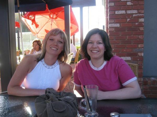 Deb and Dixie FtMac 2007
