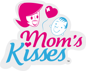 Mom's Kisses Logo