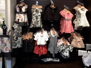 Jack & Lola Clothing Display