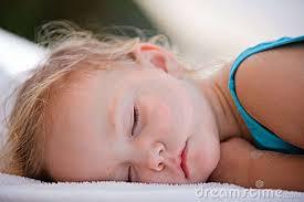 Toddler sleeping image