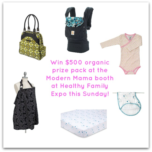 Modern Mama Organic Prize Pack for facebook