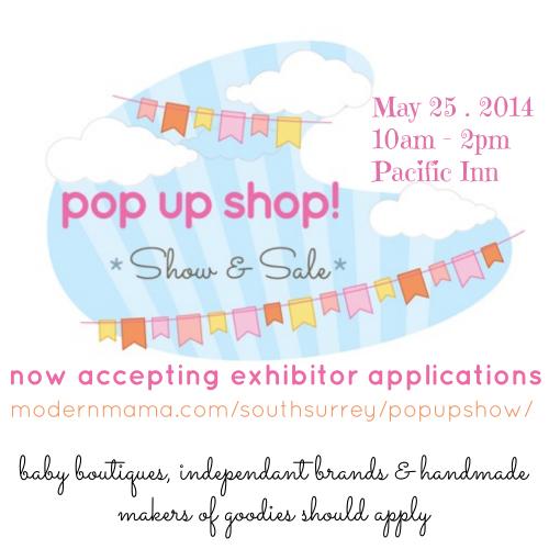 accepting vendors Pop Up Shop