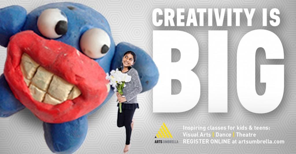Creativity is BIG-Facebook ImgLink