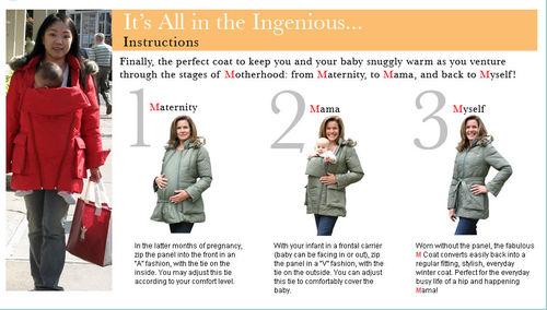 maternity m coat