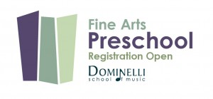 Fine Arts Preschool Banner - Dominelli School of Music-01