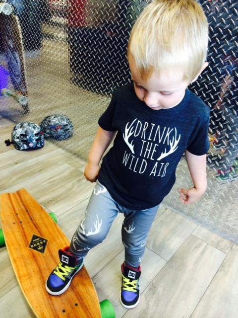 Crowns and Coroknits T-Shirt $25 & Leggings $28