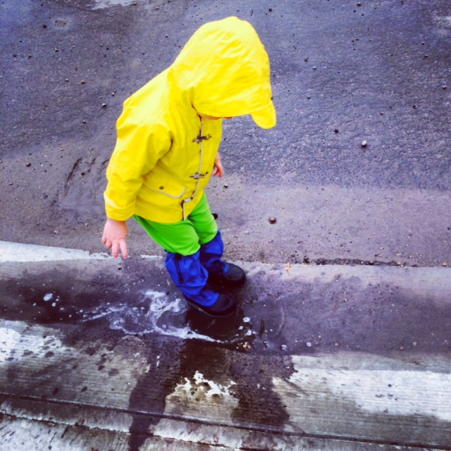 Puddle Jumping with the Explorer Boot
