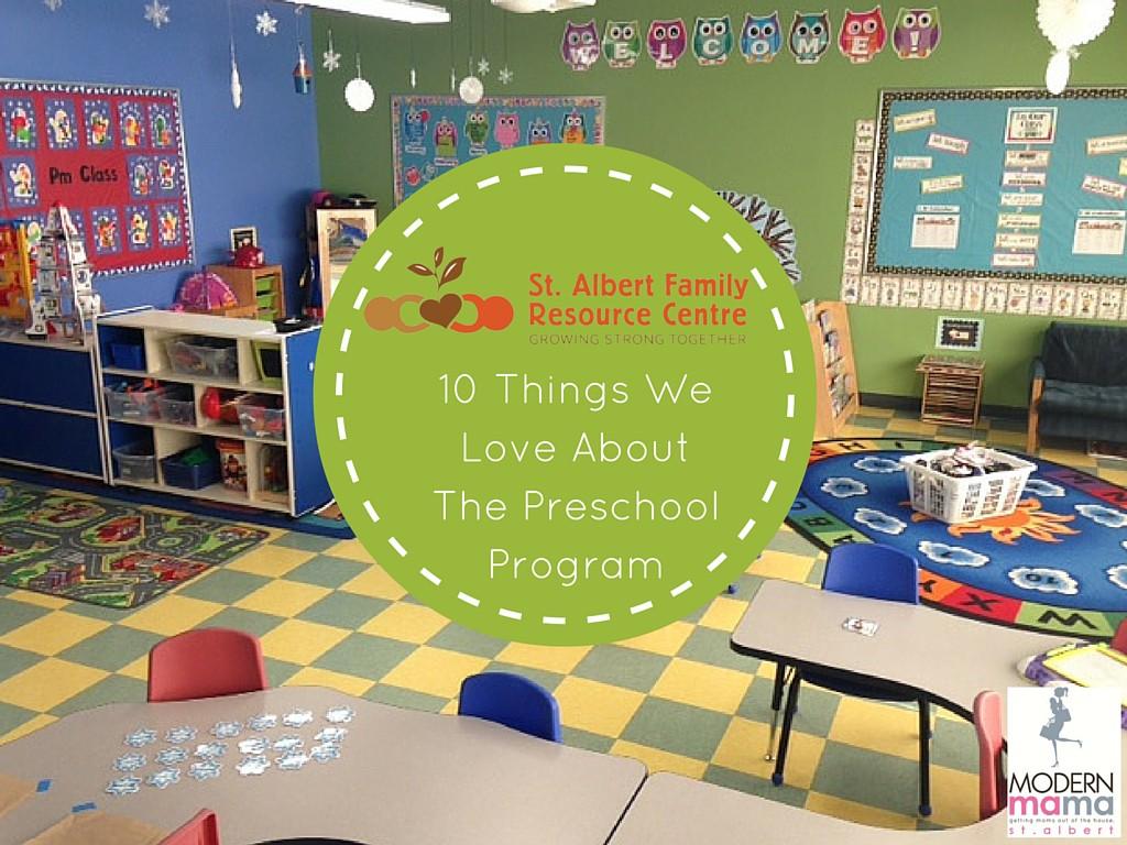 St. Albert Family Resource Centre Preschool