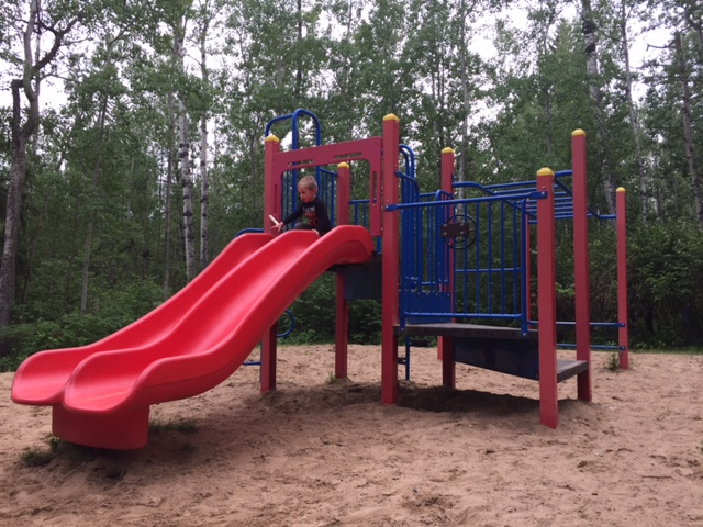 Smaller playground in the camping area