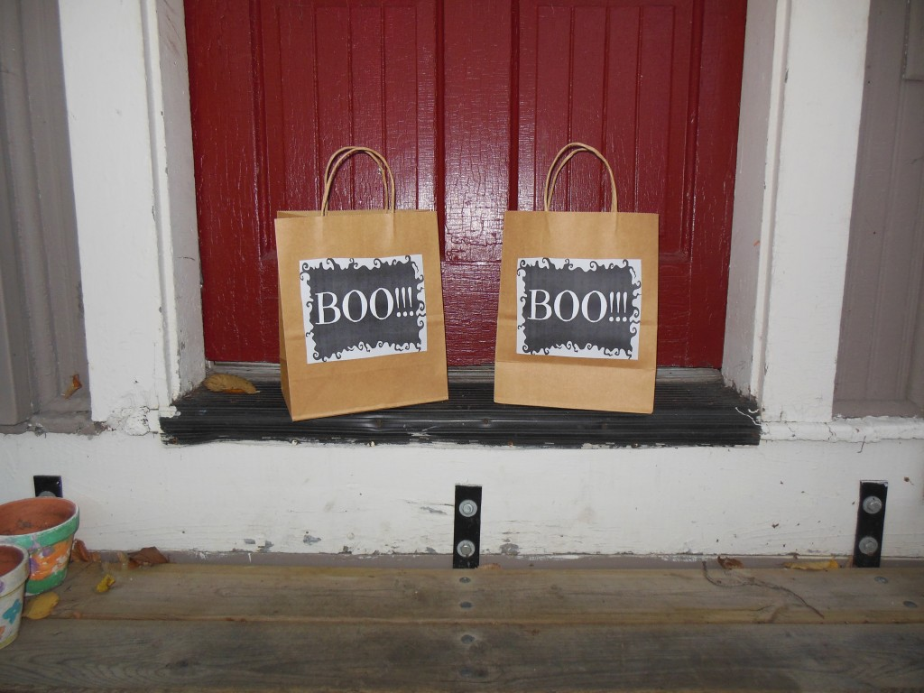 Boo Bags for the neighbors